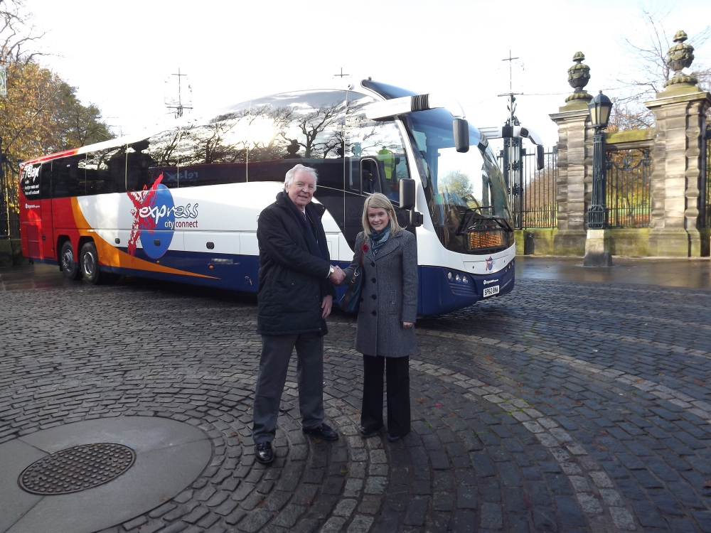Stagecoach Launch New Fife-Glasgow Coaches (3/3)