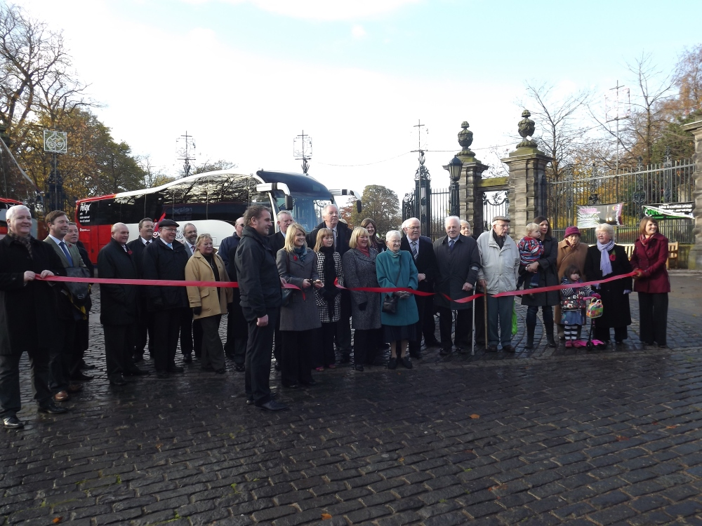 Stagecoach Launch New Fife-Glasgow Coaches (1/3)