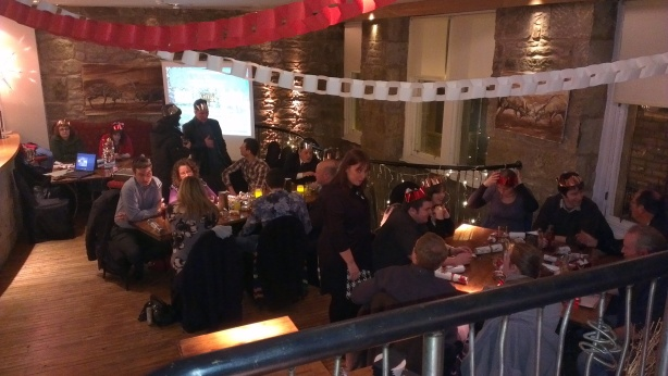 InVite Business Networking and Dunfermline Talks Business' Christmas Extravaganza and Joint Venture