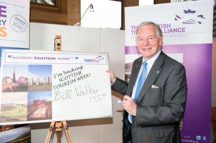 Bill Walker MSP signs up to support Scottish Tourism Week