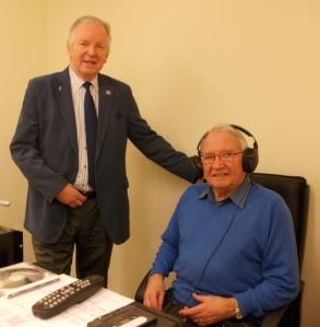Bill Walker MSP talks to Jim Jarvie, Magazine Editor of Dunfermline Sound