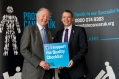 Scottish Parliament. MSPs show their support for Prostate Cancer UK.