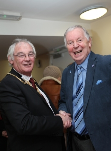 Bill Walker MSP and Fife Provost Jim Leishman at the opening of Headwell House care home in Dunfermline