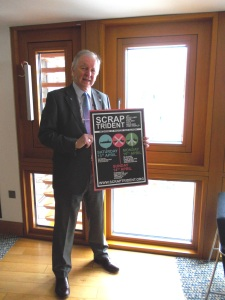 "Bill Walker MSP supports ""Scrap Trident"""